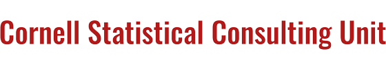 Cornell Statistical Consulting Unit